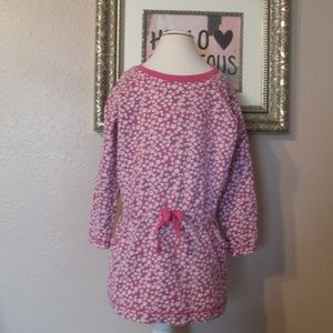 Tea Collection Pink/Purple Sweatshirt Dress